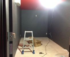 スタジオコンテナ完成しました。
