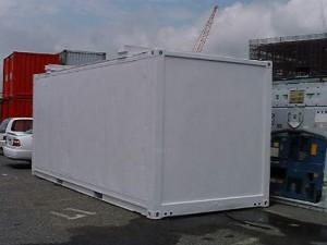 冷蔵冷凍コンテナの改造