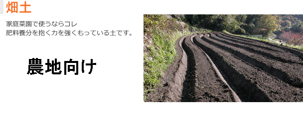 畑土 はたけつち