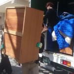 トラック荷台のお荷物