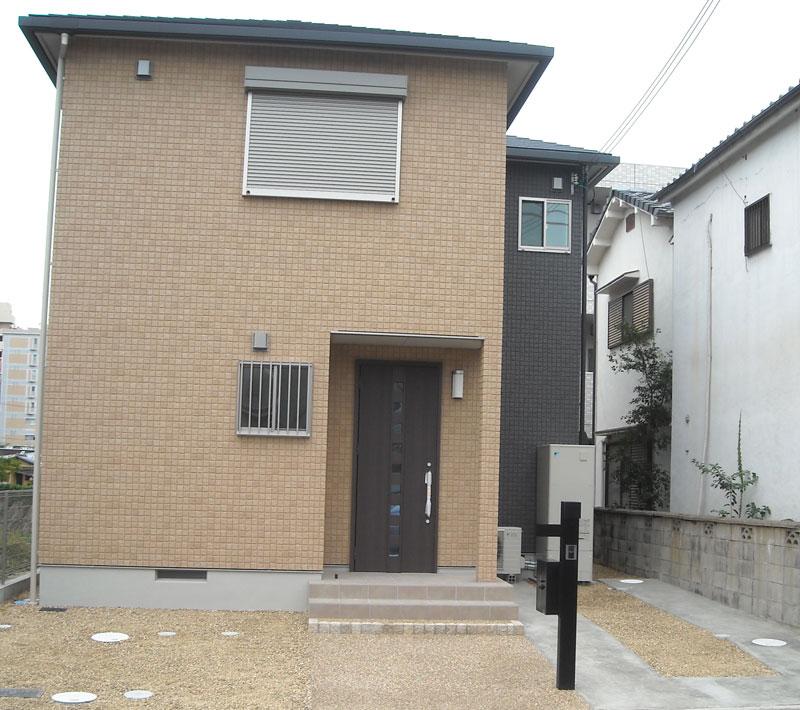 サンヨーホームズさんでご新築、奈良市のK様外構事例