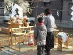 柳沢神社の宮司様
