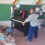 重量物(ピアノ)の輸送