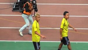 サッカー日本代表選手!本田選手&長友選手