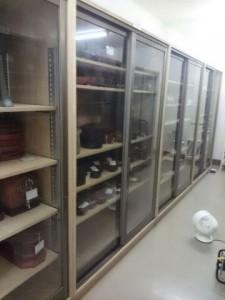 収蔵庫 棚
