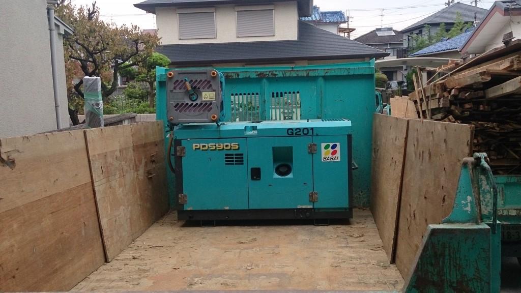 解体工事に使用する道具