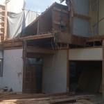 木造部分解体工事