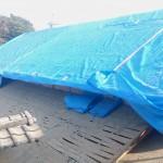 屋根の解体