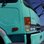 ホウワ屋上のトラック