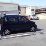 大和軒さんの駐車場