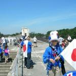 日本代表サポーター(ドイツ会場)