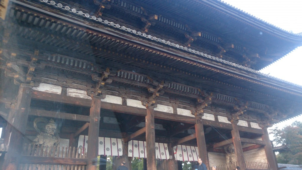 京都市内で解体工事の打合せ
