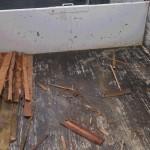 ダンプの荷台