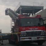 ハシゴ消防車両
