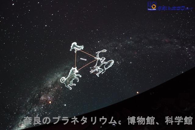 奈良のプラネタリウムや博物館、科学館などのリスト