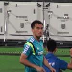 華麗な先制ゴ~ルをゲットした岡崎選手です!