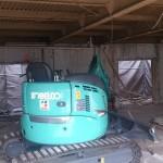 奈良市M様邸解体工事使用重機