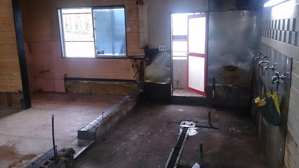 店舗の内装解体工事|ラーメン店の内装解体工事完了