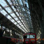 ドイツの駅構内です。