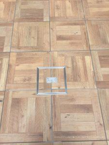 香芝市でタイルデッキ・テラス施工 | タイル目地セメント施工