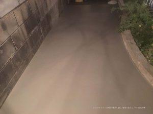 奈良市で犬走り製作 | 生コンクリートの打設