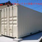20ftスタジオ用コンテナと、倉庫用コンテナ2台を納品