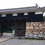 高知城の門前です。
