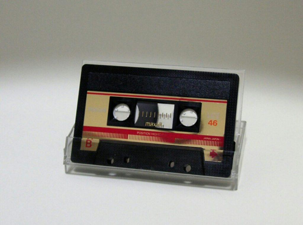 懐かしのカセットテープ