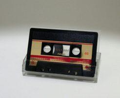懐かしいマクセルのカセットテープ