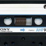 懐かしいソニーさんのAHFカセットテープ