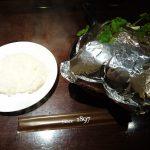 創業明治30年の東洋亭さんのハンバーグステーキ1