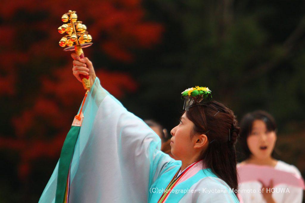 平成28年11月20日開催 伊勢神宮 外宮奉納演奏のもよう