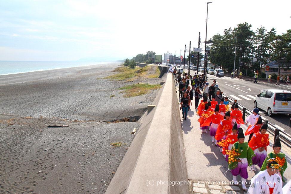 素晴らしき紀伊半島   熊野市 花の窟 錦の御幡献上行列