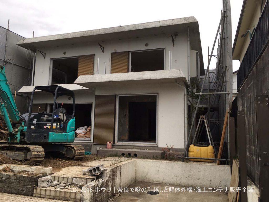 帰国のため古家付の土地を購入してヤマダ・エスバイエルホームさんで新築建替え | 奈良市