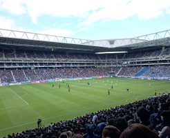 クラブワールドカップ試合会場の吹田サッカースタジアム2