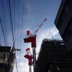 大阪市のタワークレーン3