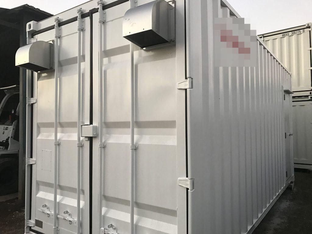 最新仕様のエネマックス   ソーラー発電等エネルギー施設向け蓄電池コンテナ