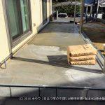 下地コンクリートの打設