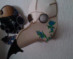 お客様手作りのペストマスク