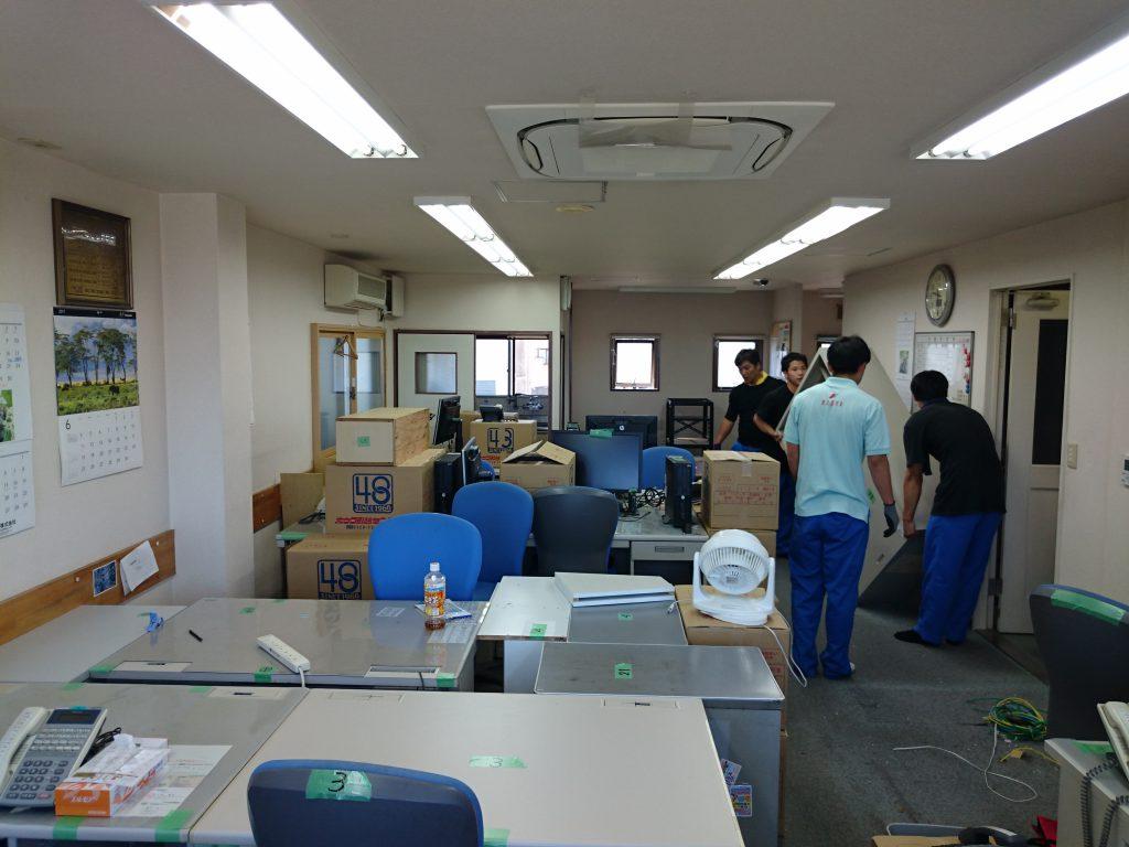 三栄電機株式会社様の移転業務3