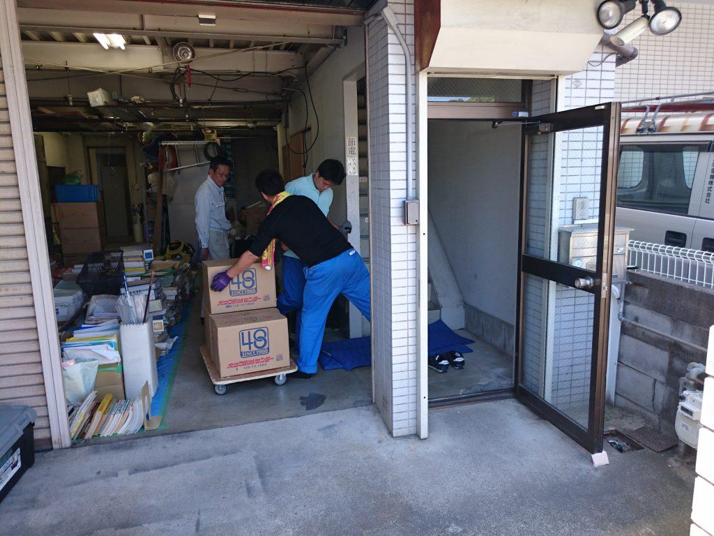 三栄電機株式会社様の移転業務5
