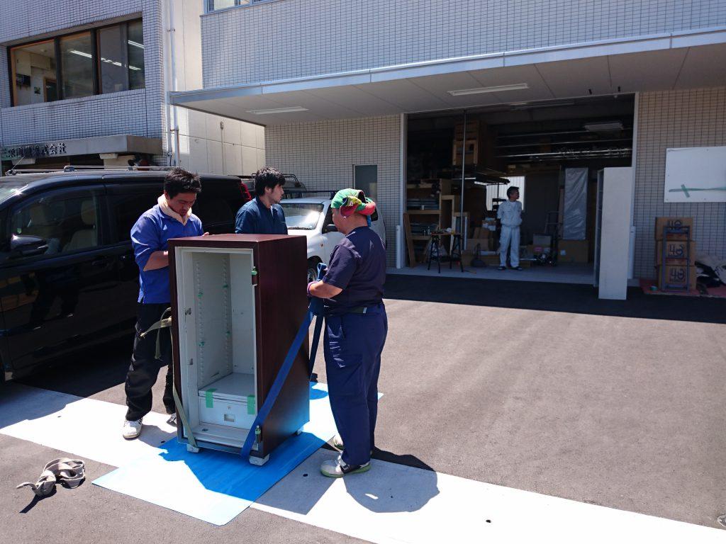 三栄電機株式会社様の移転業務12