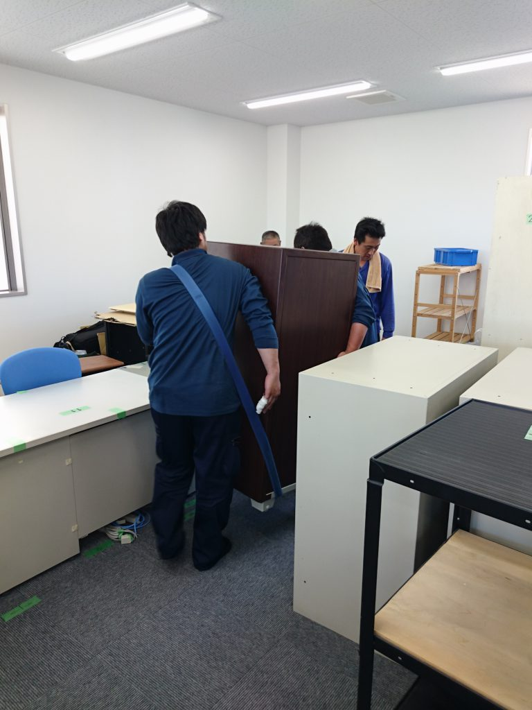 三栄電機株式会社様の移転業務17
