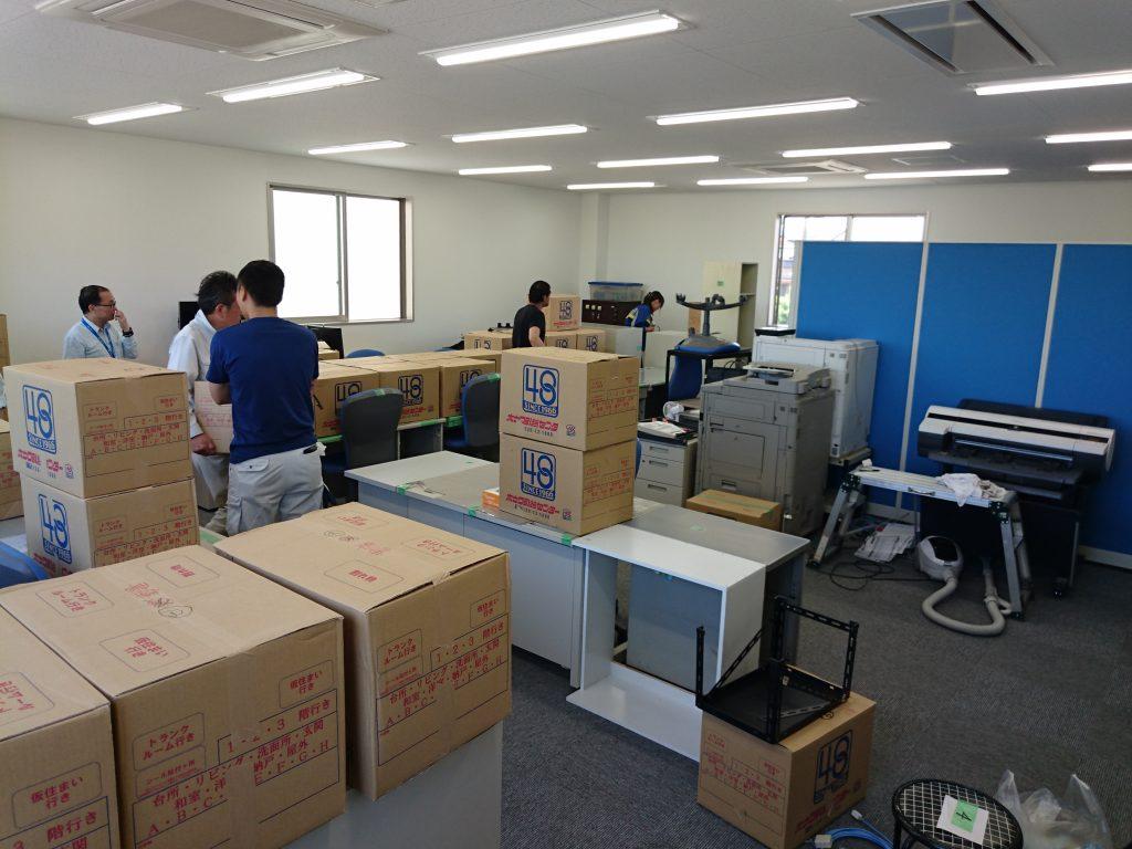 三栄電機株式会社様の移転業務20
