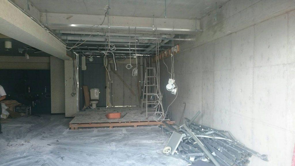 閉店した美容室の後始末 | 橿原市で内装の解体