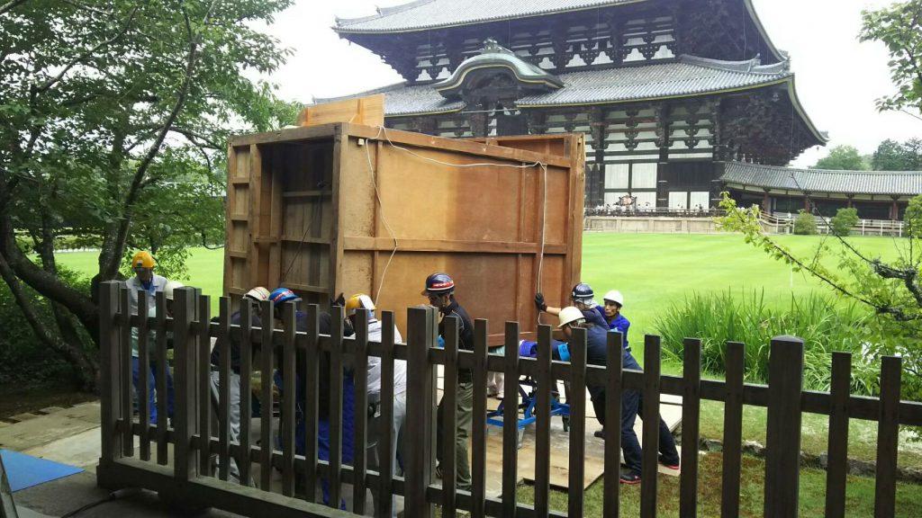 東大寺様の移転作業風景10
