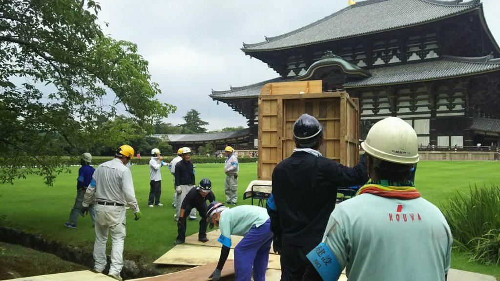 東大寺様の移転作業風景4
