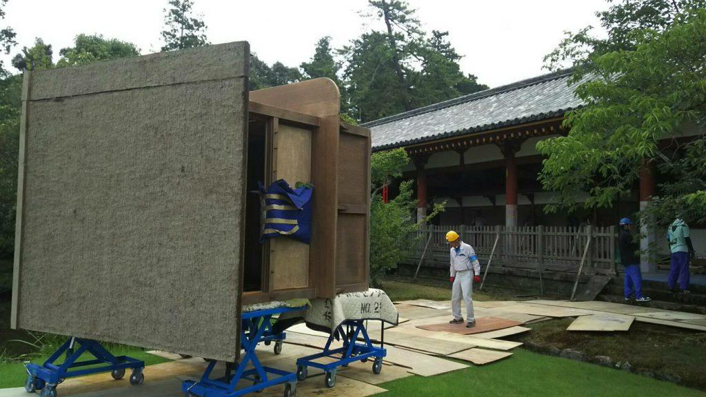 東大寺様の移転作業風景5