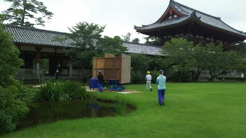 東大寺様の移転作業風景6