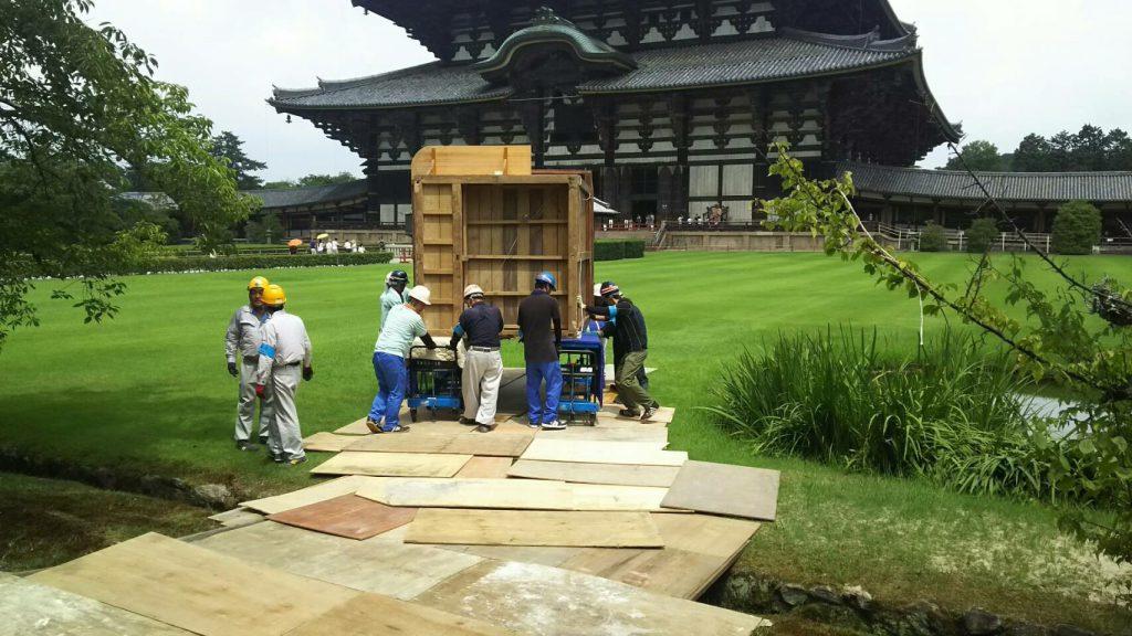 東大寺様の移転作業風景7